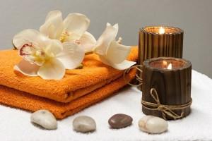 handdoek steen